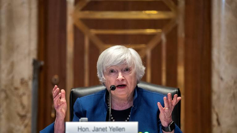 An image that illustrates this article Delta variant slowing US recovery, Yellen and Powell warn
