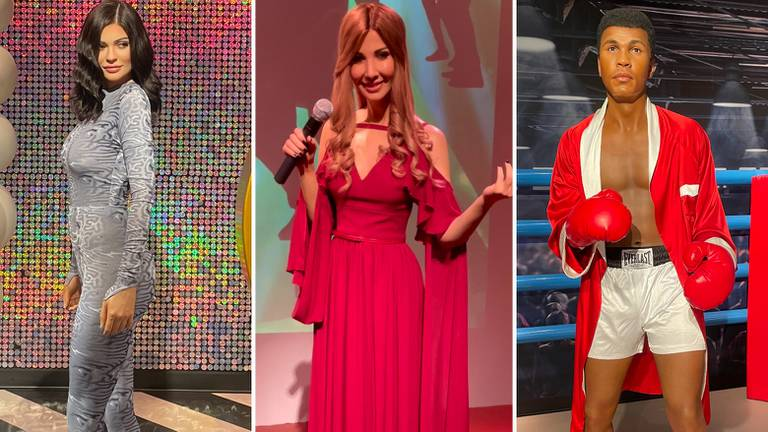 An image that illustrates this article Inside Madame Tussauds Dubai: famous Middle Eastern personalities and interactive elements