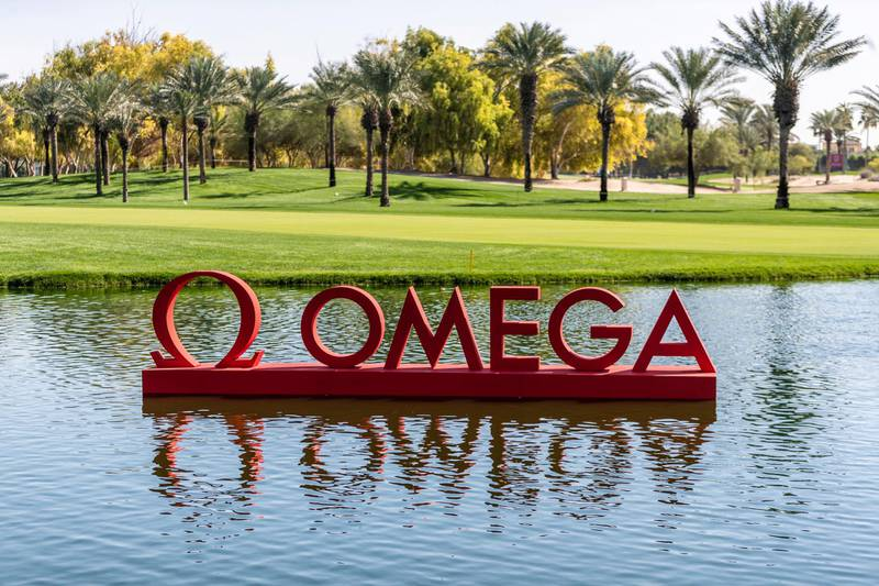 OMEGA, renowned for its innovative watchmaking, is title sponsor of the OMEGA Dubai Desert Classic. Credit Omega Dubai Desert Classic.