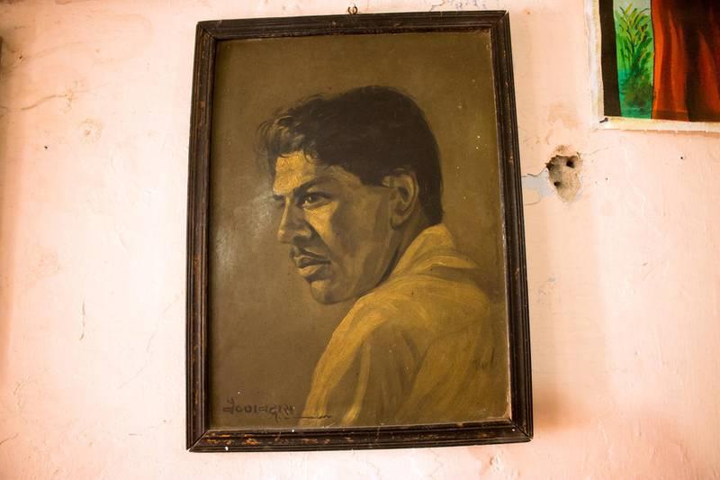 A master artist, Vaishnavdas Vyas, made this self-portrait. Courtesy: Sanket Jain