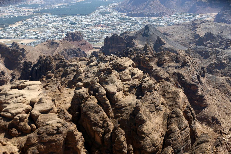 General view of al-Ula city, Saudi Arabia, February 1, 2020. Picture taken February 1, 2020. REUTERS/Ahmed Yosri