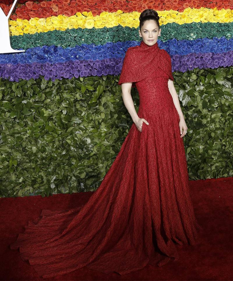 epa07638062 Ruth Wilson attends the 73rd Annual Tony Awards at Radio City Music Halll in New York, New York, USA, 09 June 2019. The annual awards honor excellence in Broadway theatre.  EPA-EFE/PETER FOLEY