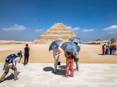 Tomb of King Djoser reopens after 15 year restoration - in pictures