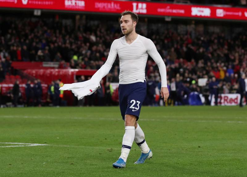 Soccer Football - FA Cup - Third Round - Middlesbrough v Tottenham Hotspur - Riverside Stadium, Middlesbrough, Britain - January 5, 2020  Tottenham Hotspur's Christian Eriksen after the match   Action Images via Reuters/Lee Smith