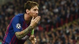 Lionel Messi shows shades of Sheringham as Barcelona captain leaves Spurs spellbound