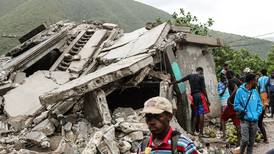 Storms and floods compound misery for Haitians as earthquake toll rises