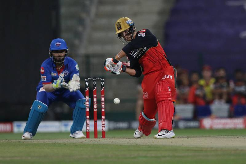 Joshua Philippe of the Royal Challengers Bangalore plays a shot  during match 55 of season 13 of the Dream 11 Indian Premier League (IPL) between the Delhi Capitals and the Royal Challengers Bangalore at the Sheikh Zayed Stadium, Abu Dhabi  in the United Arab Emirates on the 2nd November 2020.  Photo by: Pankaj Nangia  / Sportzpics for BCCI