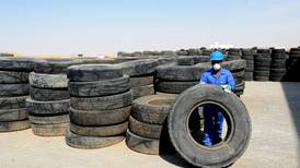 This Abu Dhabi recycling factory turns thousands of old tyres into fuel
