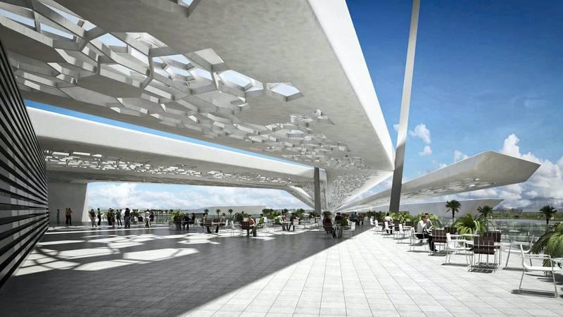 Al Qana - Block B1. Courtesy Department of Urban Planning and Municipalities and Al Barakah International Investment