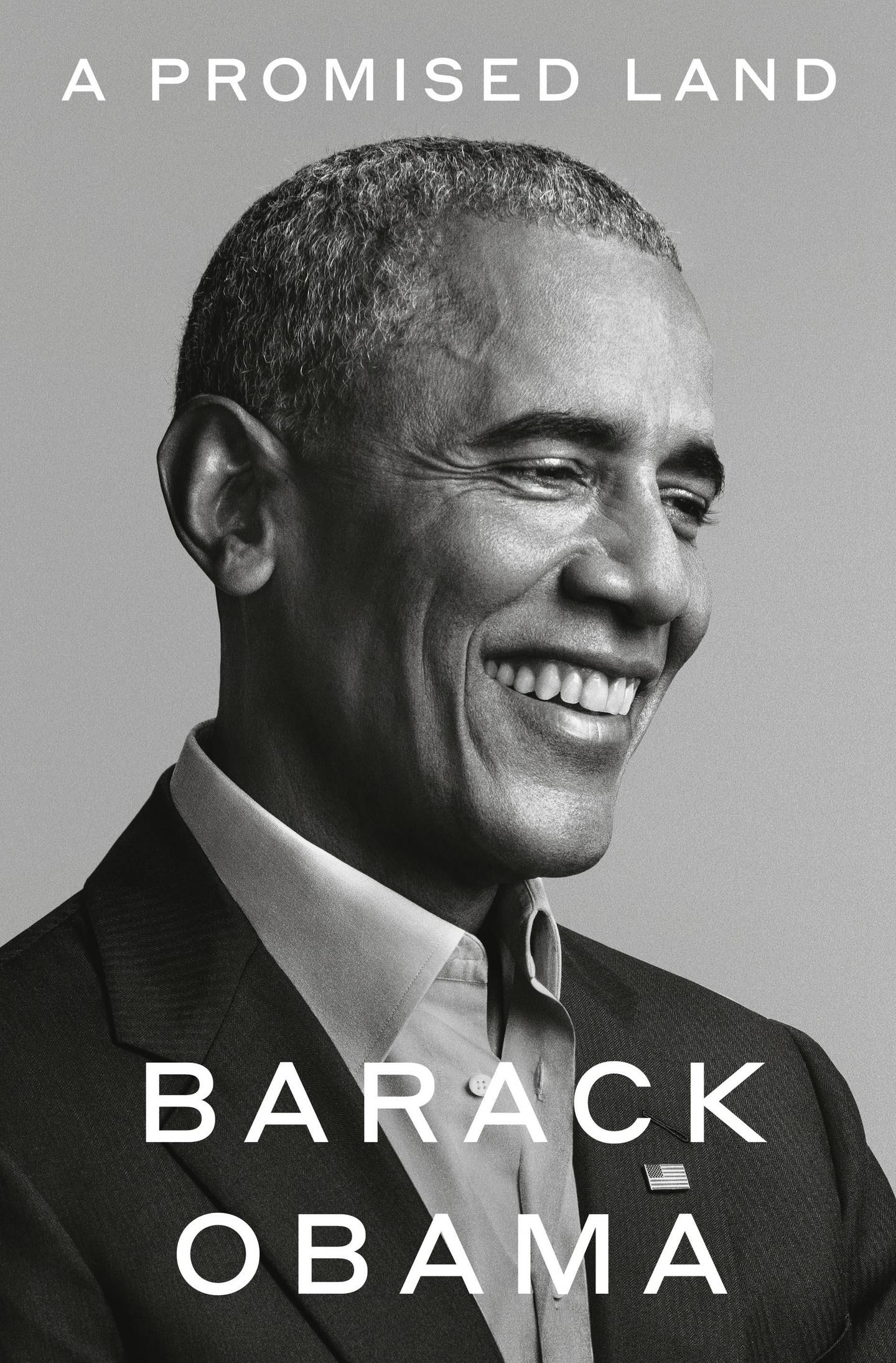 A Promised Land by Barack Obama published by Crown. Courtesy Penguin Random House