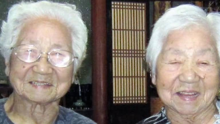 An image that illustrates this article Meet the world's oldest living identical twins