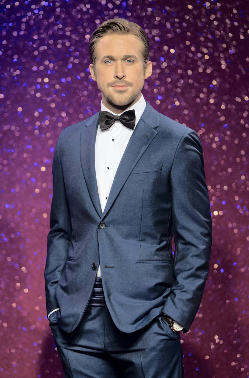 LONDON, ENGLAND - JULY 23: Madame Tussauds unveil their new Ryan Gosling wax figure at Madame Tussauds on July 23, 2014 in London, England.  (Photo by Ian Gavan/Getty Images)