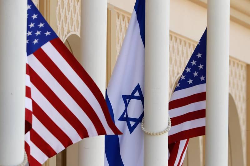 Abu Dhabi, United Arab Emirates, August 31, 2020. US-Israeli delegation led by White House senior adviser Jared Kushner on Monday arrived in the UAE on the first commercial flight between Israel and the UAE.Victor Besa /The NationalSection:  NAReporter:  Khaled Owais