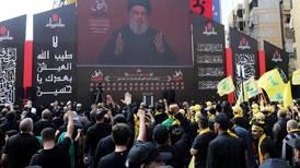 US sanctions millionaire Hezbollah moneymen as Nasrallah speaks