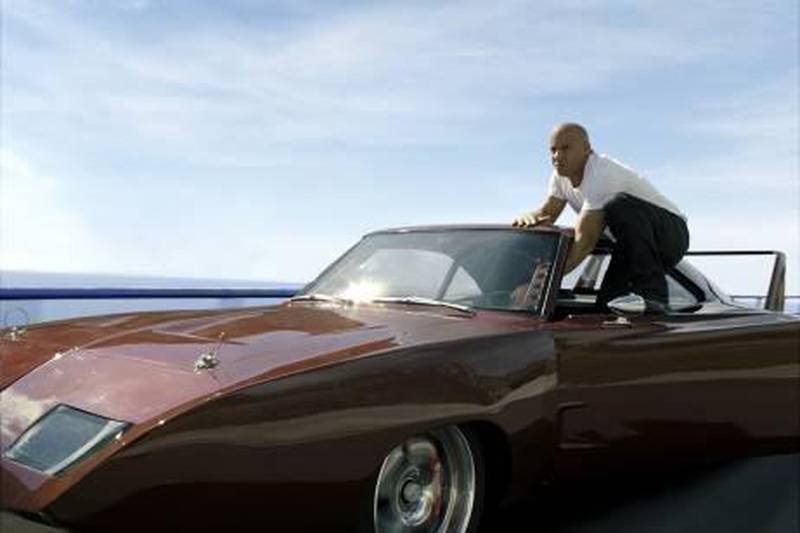 """A handout photo of VIN DIESEL as Dom in """"Fast & Furious 6"""" (Courtesy: Universal Pictures)"""