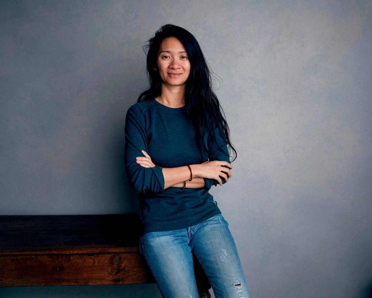 """FILE - This Jan. 22, 2018 file photo shows writer/director Chloe Zhao posing for a portrait to promote her film """"The Rider"""" during the Sundance Film Festival in Park City, Utah. The National Society of Film Critics on Saturday, Jan. 5, 2019, has chosen Zhao's low-budget debut feature """"The Rider"""" as best picture of 2018. (Photo by Taylor Jewell/Invision/AP, File)"""