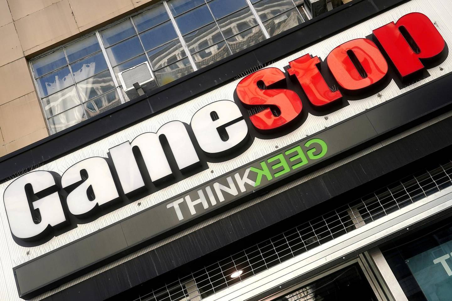 FILE PHOTO: A GameStop store is pictured in the Manhattan borough of New York City, New York, U.S., January 29, 2021. REUTERS/Carlo Allegri/File Photo