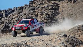Fernando Alonso up and running at Dakar Rally as Vaidotas Zala takes first stage lead in Saudi Arabia