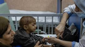 Rising malnutrition and overcrowded hospitals push Afghans deeper into despair