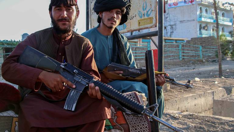 An image that illustrates this article Afghanistan must not become terrorist safe haven, say Pakistan and UK ministers