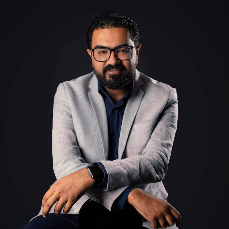 Ahmed Abu Elhaz, founder and chief executive of Cairo-based health-tech start-up Shezlong. Source: Shezlong