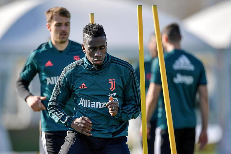 TURIN, ITALY - MARCH 10: Juventus player Blaise Matuidi during a training session at JTC on March 10, 2020 in Turin, Italy. (Photo by Daniele Badolato - Juventus FC/Juventus FC via Getty Images)