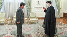 Iran's Raisi calls on Japan to release frozen funds