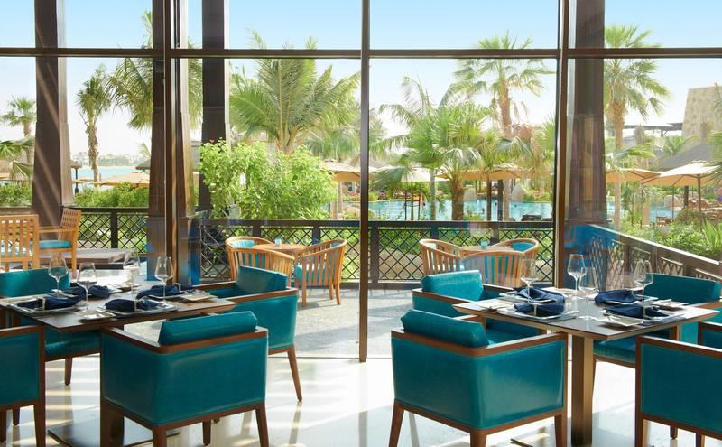 A handout photo of Moana Seafood Restaurant at Sofitel The Palm Jumeirah in Dubai (Courtesy: Sofitel The Palm Jumeirah) NOTE: For Dubai brunch fetaure written by Rebecca Duane *** Local Caption ***  al99-dubaibrunch-moana01.jpg