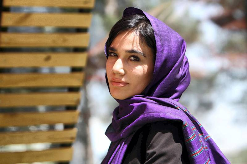 Mandatory Credit: Photo by Jalil Rezaee/EPA/Shutterstock (8970776d) Laleh Osmani Laleh Osmani, the initiator of the campaign 'where is my name' for Afghan women, Herat, Afghanistan - 20 Jul 2017 Laleh Osmani, the initiator of the online campaign 'Where is My Name', poses for a photograph in western Herat, Afghanistan, 20 July 2017 (issued 22 July 2017). According to reports, Laleh Osmani launched the online campaign 'Where is My Name' to encourage women be called by their given names, instead of being publicly identified by the names of their male relatives. Several Afghan men believe revealing the name of their female relatives in public is disgraceful.