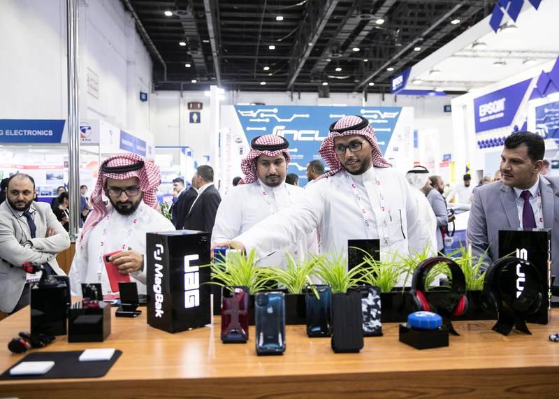 DUBAI, UNITED ARAB EMIRATES. 06 OCTOBER 2019. Gitex Technology Week at Dubai World Trade Center.(Photo: Reem Mohammed/The National)Reporter:Section:
