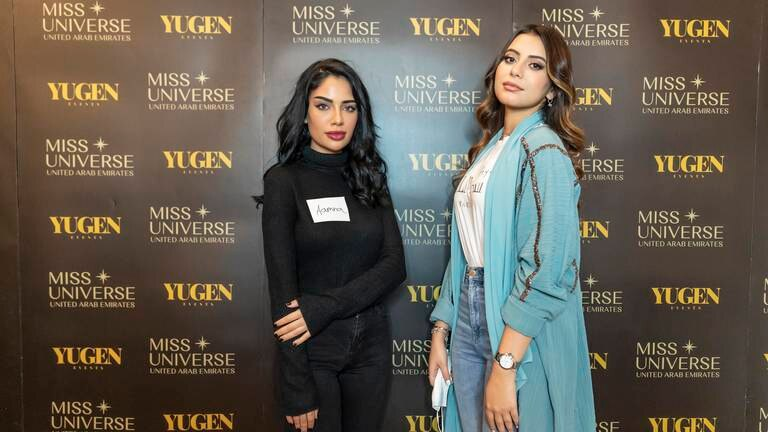 An image that illustrates this article Miss Universe UAE auditions - in pictures