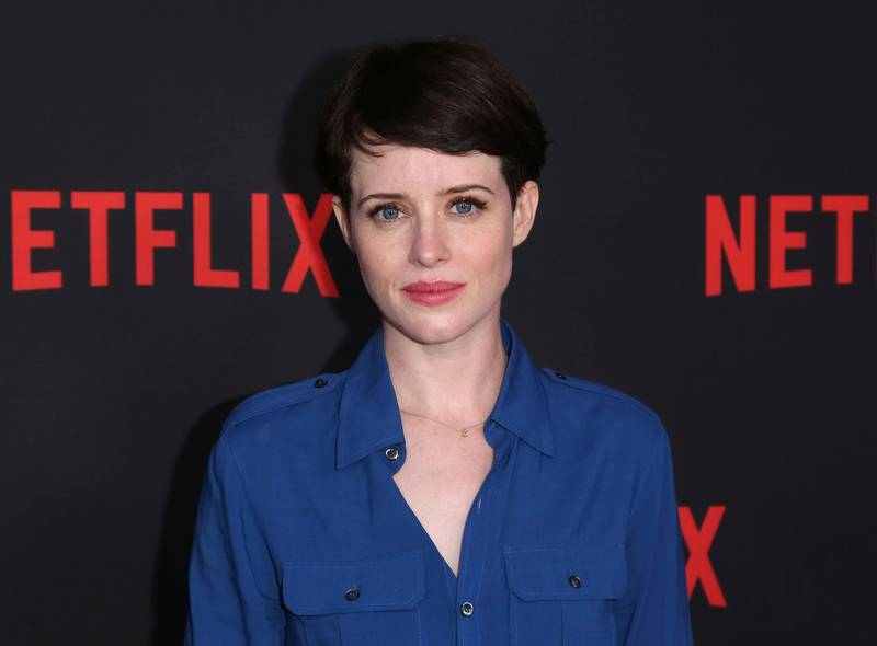 """Claire Foy arrives at the """"The Crown"""" FYC event at the Saban Media Center at the Television Academy on Friday, April 27, 2018, in Los Angeles. (Photo by Willy Sanjuan/Invision/AP)"""