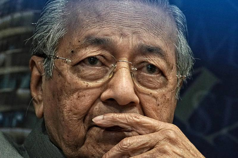 Bloomberg Best of the Year 2018: Mahathir Mohamad, Malaysia's prime minister, attends a news conference at the Malaysian Anti-Corruption Commission headquarters in Putrajaya, Malaysia, on Tuesday, July 10, 2018. Photographer: Rahman Roslan/Bloomberg