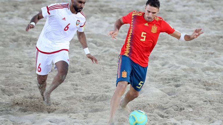 An image that illustrates this article UAE handed challenging draw at Intercontinental Beach Soccer Cup