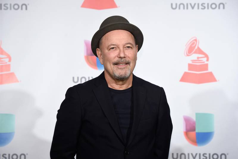 LAS VEGAS, NV - NOVEMBER 16: Ruben Blades poses in the press room during The 18th Annual Latin Grammy Awards at MGM Grand Garden Arena on November 16, 2017 in Las Vegas, Nevada.   David Becker/Getty Images /AFP
