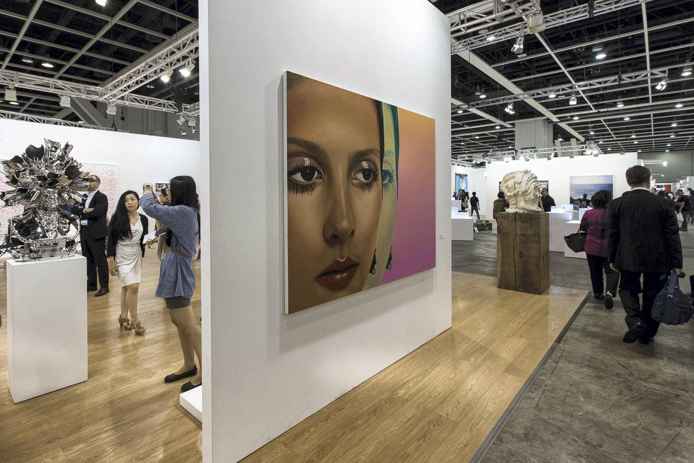 Art Basel during day 3 on May 16, 2014 at the Hong Kong Convention and Exhibition Centre in Hong Kong, China. Photo by Jessica Hromas / Art Basel