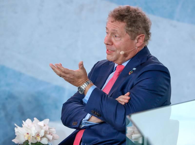 Abu Dhabi, United Arab Emirates, November 19 , 2019.  Reaching the Last Mile Forum.--Dr. Seth Berkley, CEO, Gavi, The Vaccine Alliance.Victor Besa / The NationalSection:  NAReporter:  Dan Sanderson5