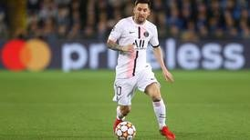 Lionel Messi frustrated in first PSG start as Brugge claim draw in Champions League