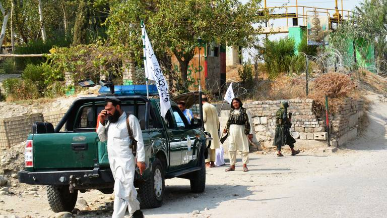 An image that illustrates this article Taliban target of suspected ISIS attack that killed 3 in Jalalabad