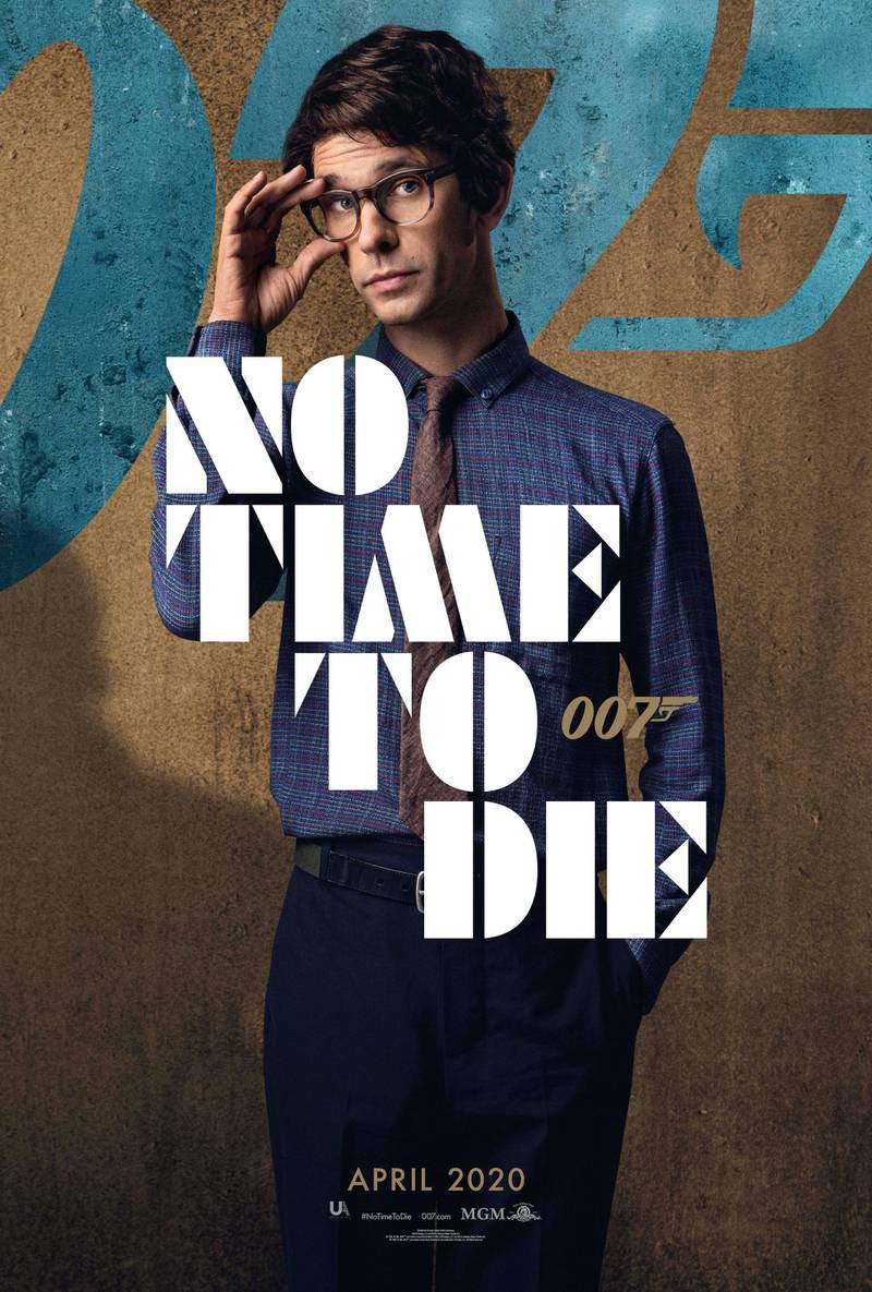 No Time To Die poster featuring Ben Whishaw. Courtesy MGM