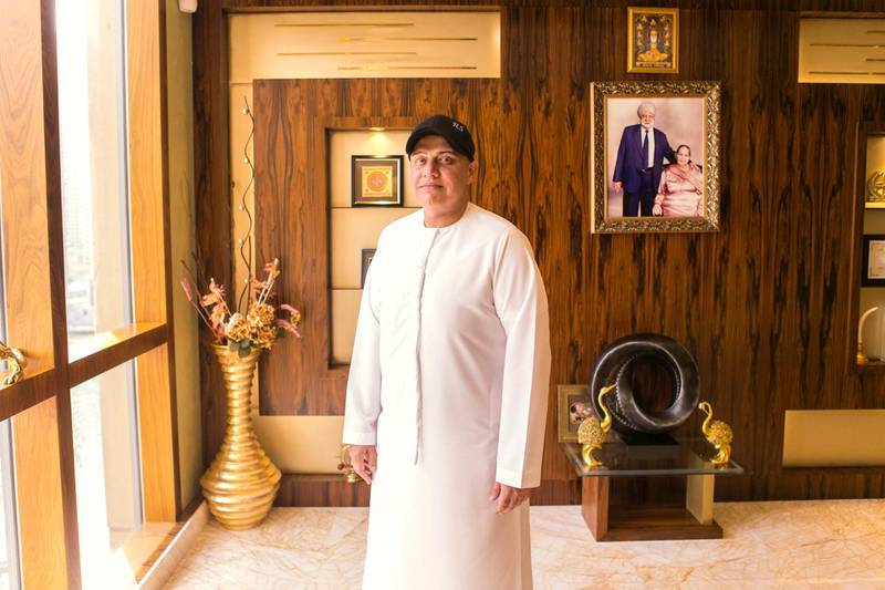 DUBAI, UNITED ARAB EMIRATES - JULY 25: Balwinder (Raj) Sahni, owner of RSG International.The multimillionaire spent $7m on a D5 number plate last year.(Photo by Reem Mohammed/The National)Reporter: Suzanne ClockeSection: BZ