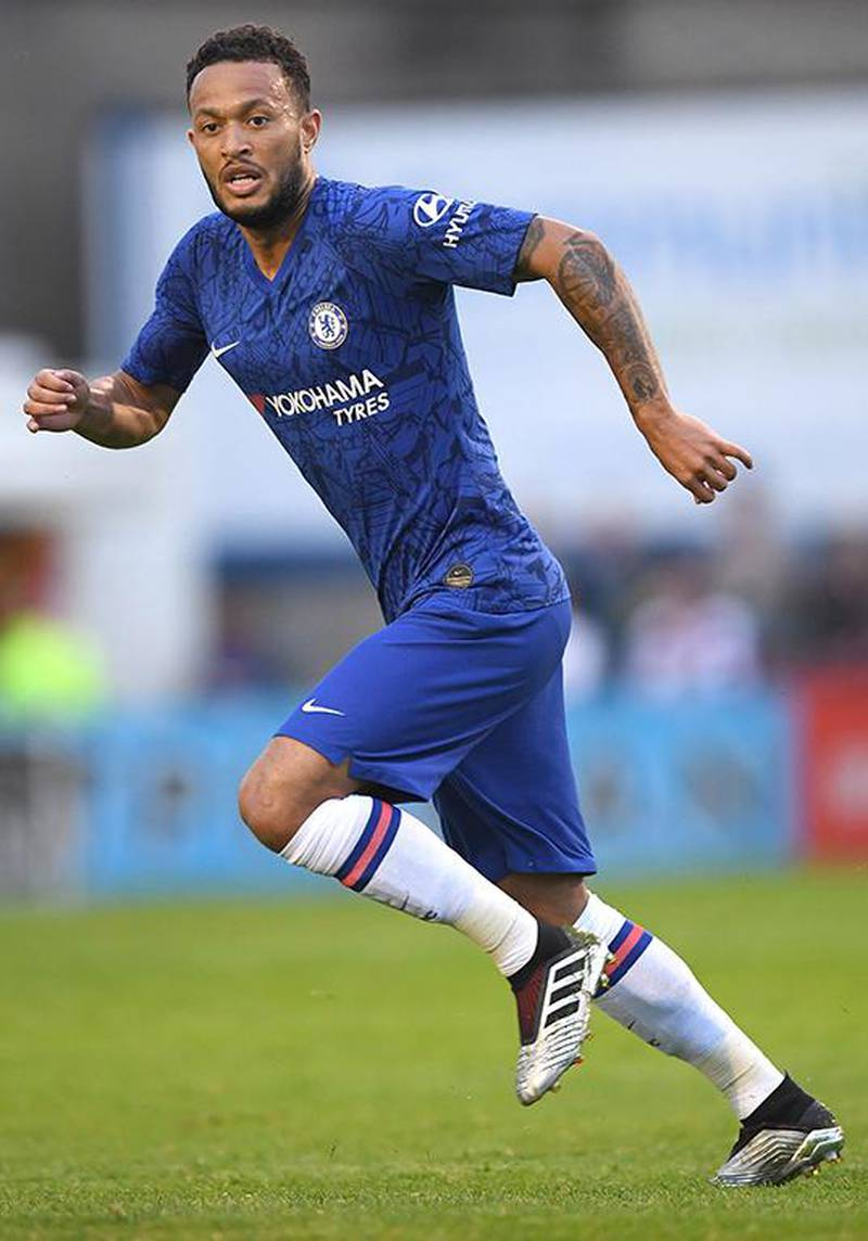 DUBLIN, IRELAND - JULY 10: Lewis Baker of Chelsea in action during the Pre-Season Friendly match between Bohemians FC and Chelsea FC at Dalymount Park on July 10, 2019 in Dublin, Ireland. (Photo by Darren Walsh/Chelsea FC via Getty Images)
