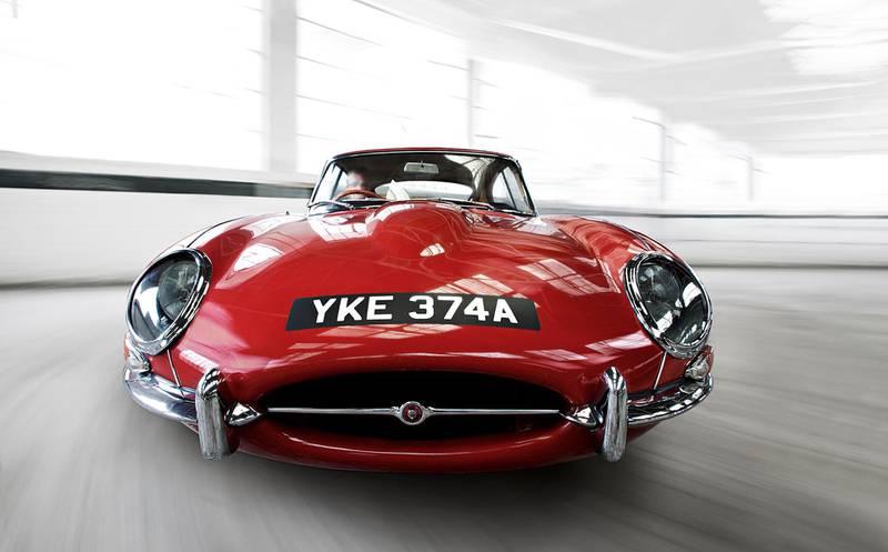 E-Type Coupe. Courtesy Jaguar