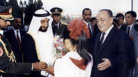 The Great Wall and the Great Hall: Sheikh Zayed's landmark 1990 visit to China