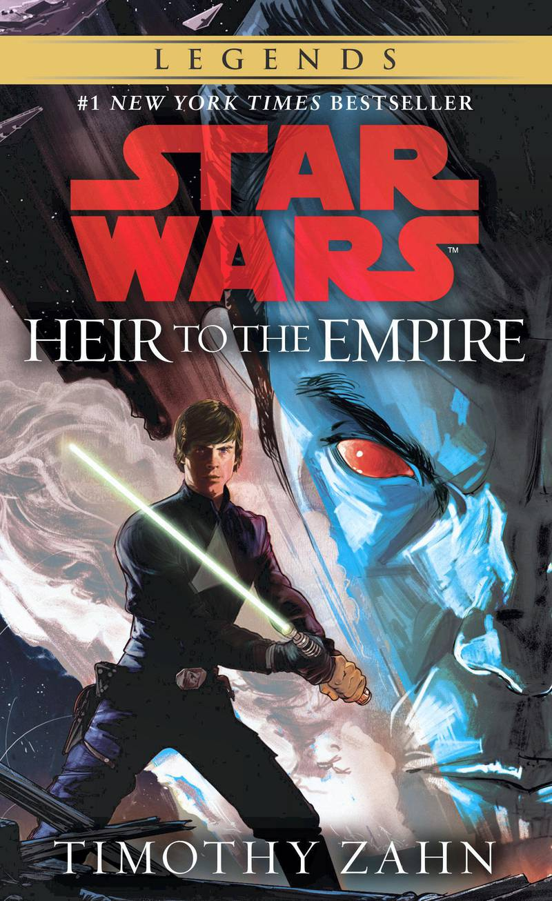 Heir to the Empire by Timothy Zahn. Courtesy Penguin Random House