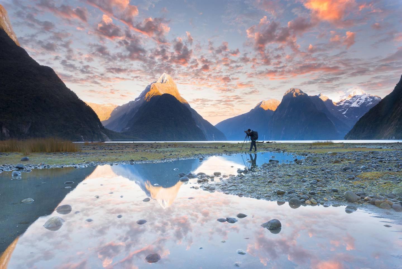 Milford sound New Zealand. Courtesy Lightfoot Travel