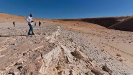 120,000-year-old footprints discovered in Saudi Arabia reveal how the first people lived