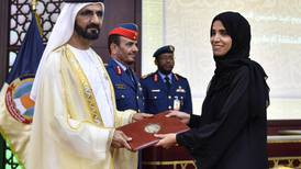 UAE leaders attend National Defence College graduation ceremony - in pictures