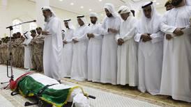 Hundreds attend funeral for UAE martyr in Ras Al Khaimah