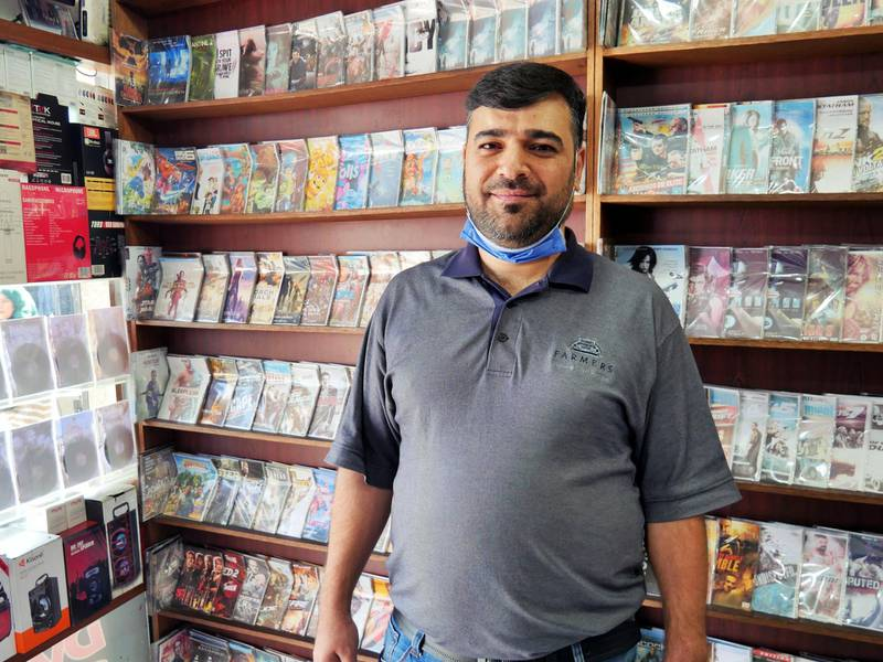 Pictured: Anas Al Madadha, 37, runs a DVD store in Zarqa. He is a father to four sons. He said he level of violence shown in this attack has shocked the community and believes the death penalty should be considered.  19/10/2020 Photographer: Charlie Faulkner